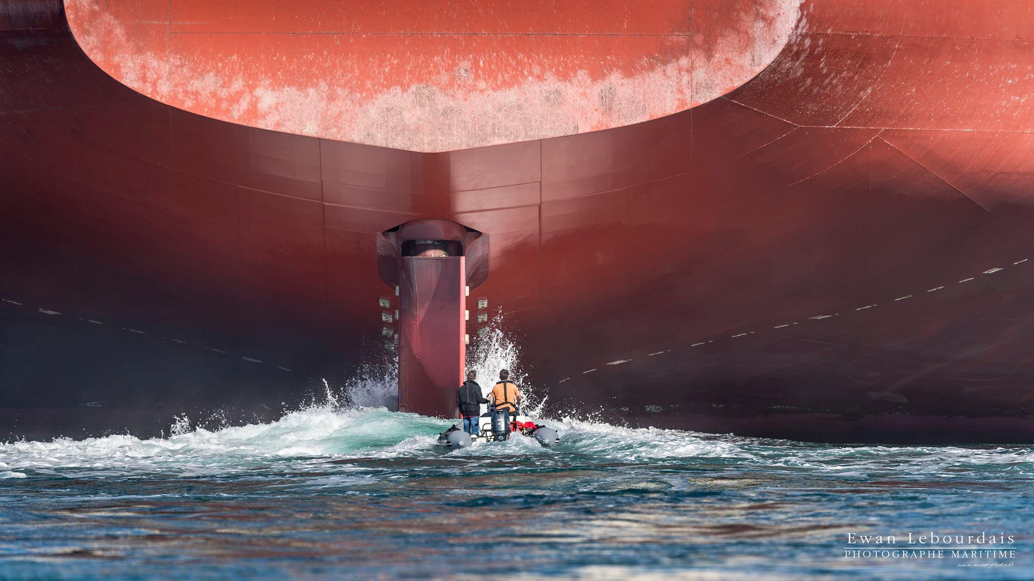 11 octobre 2020 - Rear tug - © Ewan Le Bourdais