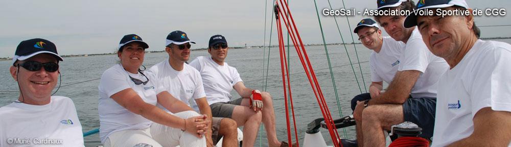 équipage CGGVeritas / Coupe du Pétrole de Voile 2008