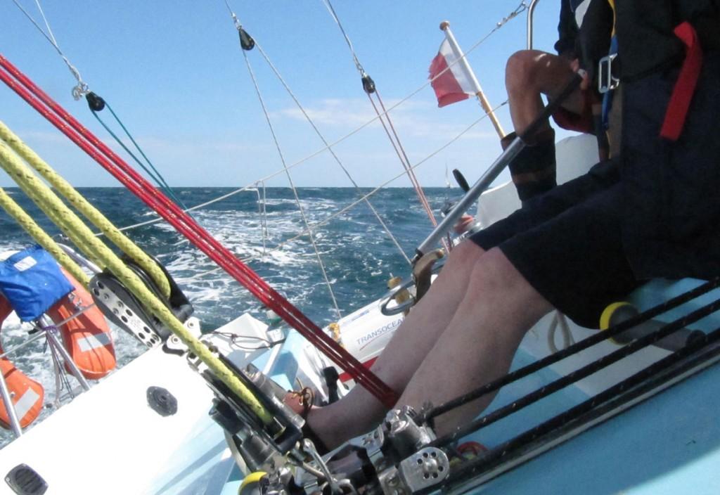 Turbidite en route dans la Baie de Quiberon