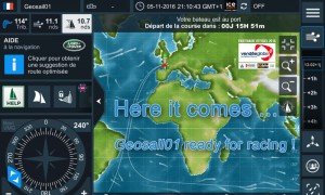virtual regatta - Vendee globe 2016-2017