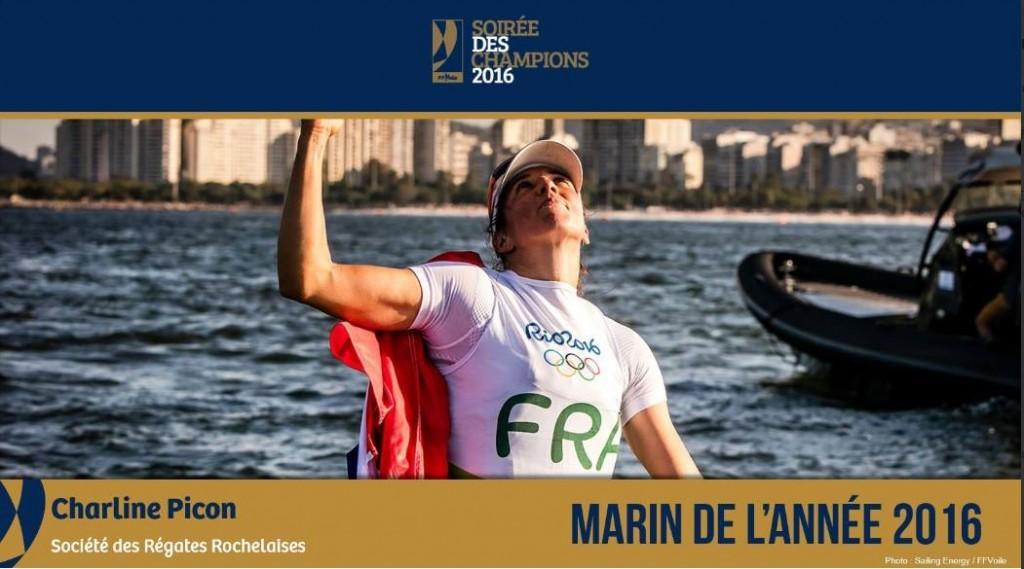 Charline Picon - Marin de l'année 2017