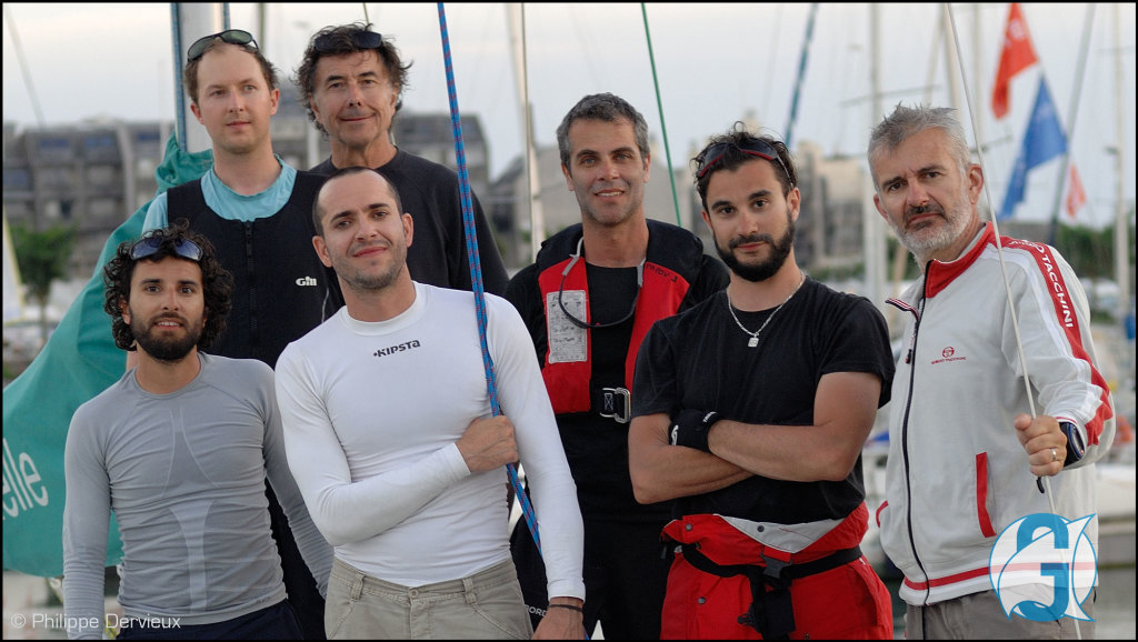 Équipage GeoSail de la Coupe du Pétrole de Voile 2017 - La Rochelle