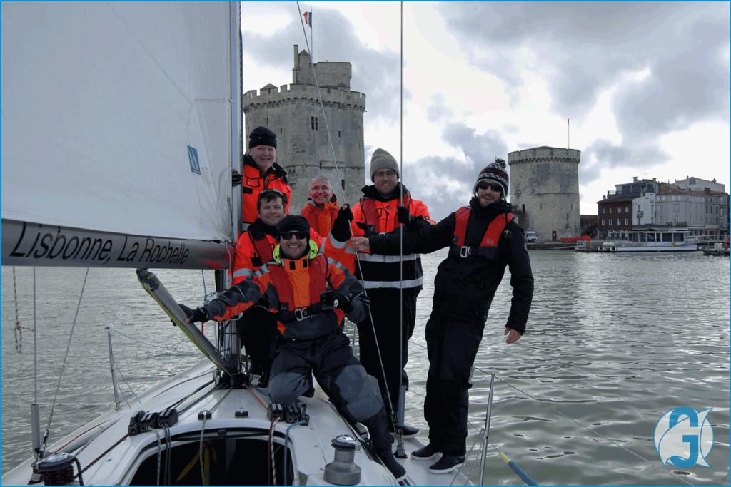 GeoSail - Vieux Port La Rochelle mars 2018