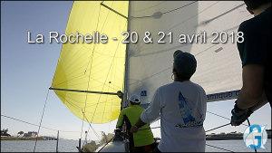 Sortie du Vieux Port de La Rochelle sous spi