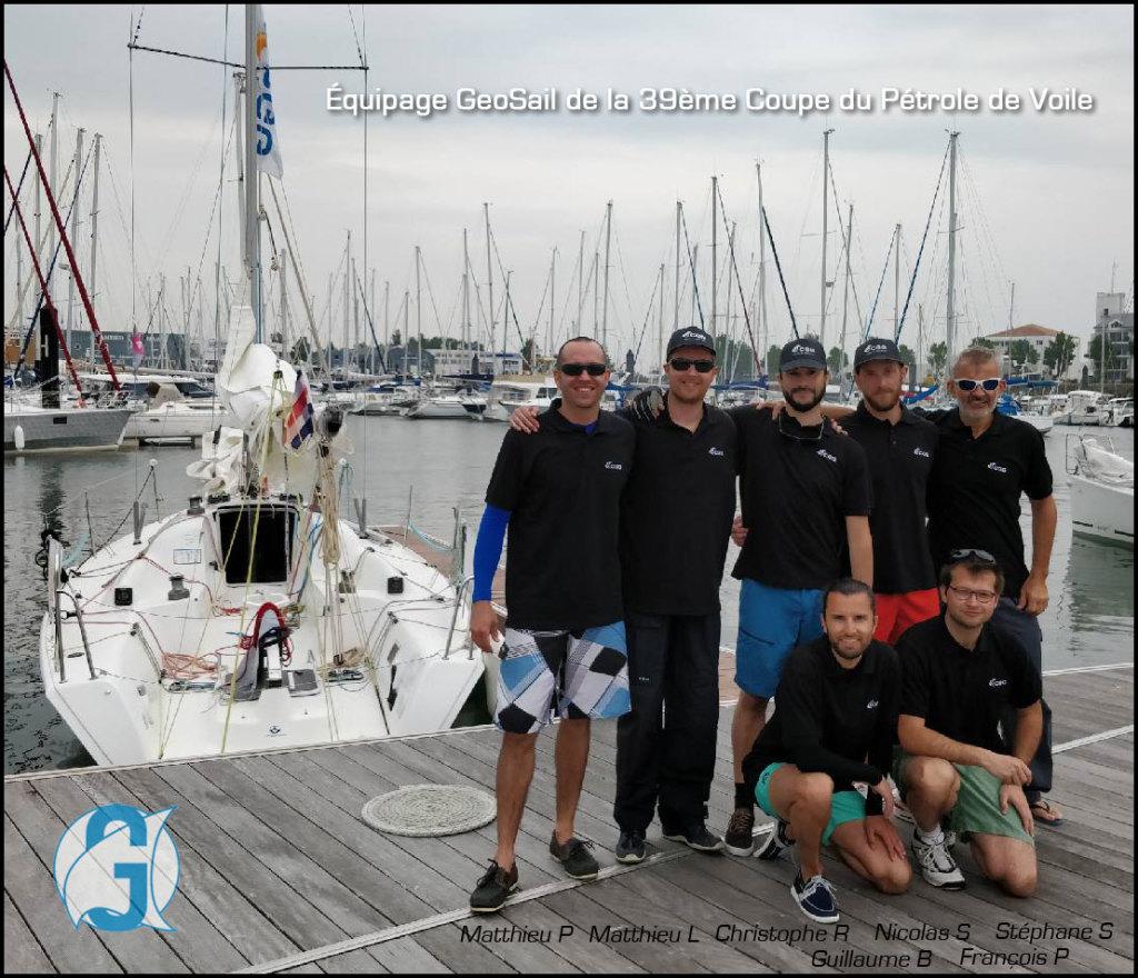 GeoSail - Equipage de la 39eme Coupe du Pétrole de Voile