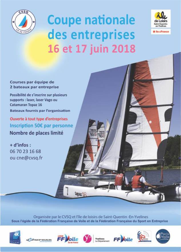 Coupe Enteprise 2018 - St Quentin en Yvelines