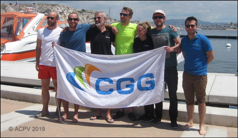 Equipage GeoSail - Coupe du Pétrole 2019 / Marseille