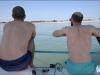 Matthieu et Nicolas contemplant la page de Sablanceau