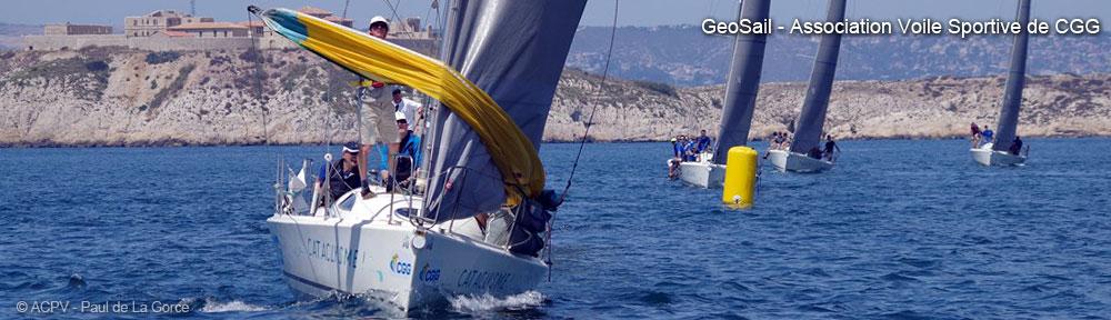 GeoSail - Coupe du Pétrole de Voile 2016 - Iles du Frioul / Marseille